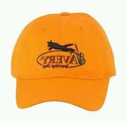 AVERY GREENHEAD GEAR SPORTING DOG TRAINING  CAP HAT BLAZE OR