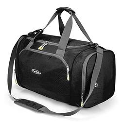 G4Free Gym Bag with Shoes Compartment Large 50L Sports Duffe
