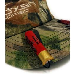 Hat Cap Clip RED Shotgun Shell AMMO Hunting Gear Military Bu