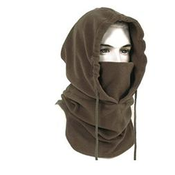 BeLe Mens Winter Hat Cold Weather Face Mask Balaclava Hood O