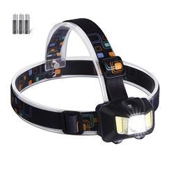 LED Headlamp Headlight 4 Modes Adjustable Water Resistance S