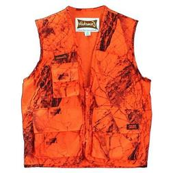 Gamehide Sneaker Big Game Vest Blaze Camo, 2X-Large