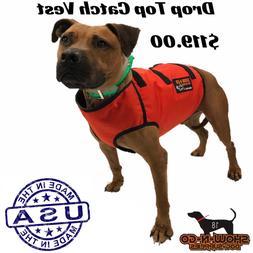 Hog Dog Hunting Cut Gear- Drop Top Catch Vest- Full Vest