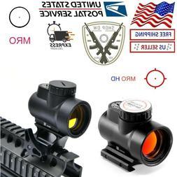 Holographic MRO Red Dot Sight Scope Hunting Riflescope Illum