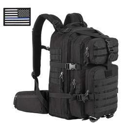Hunting Backpack Waterproof Military Hiking Camo Bag 33L Tac