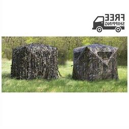 GUIDE GEAR Hunting Blind Concealment Cover 3D Leaf-Strings A