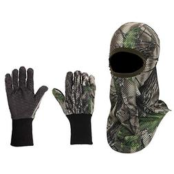 North Mountain Gear Hunting Camouflage Gloves and Face Mask
