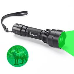 UltraFire Hunting Lights Hunting Gear Green Flashlight 520-5