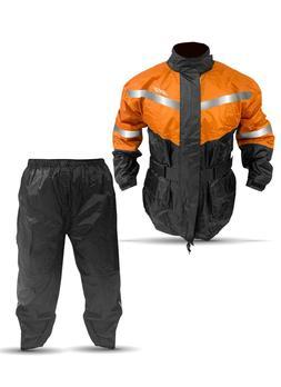 Hunting Rain Gear/ 100% Waterproof 2 PCS Rain Suits/ Orange