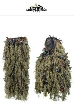 NORTH MOUNTAIN GEAR Hybrid Ghillie Suit . Size: M/L!!