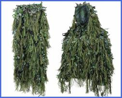 North Mountain Gear Hybrid Woodland Camouflage Ghillie Hunti