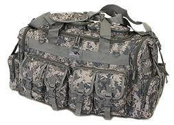 "Mens Large 30"" Inch ACU Digital Camo Duffel Duffle Military"