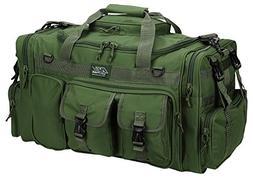 "NPUSA Mens Large 26"" Inch Olive Green Duffel Duffle Military"