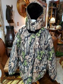 insulated hunting jacket coat woodland ghost camo