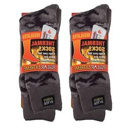 Polar Extreme Insulated Thermal Socks - Gray Camouflage  Sho