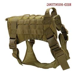 K9 Dog Vest Molle Dog <font><b>Hunting</b></font> Clothes Ou