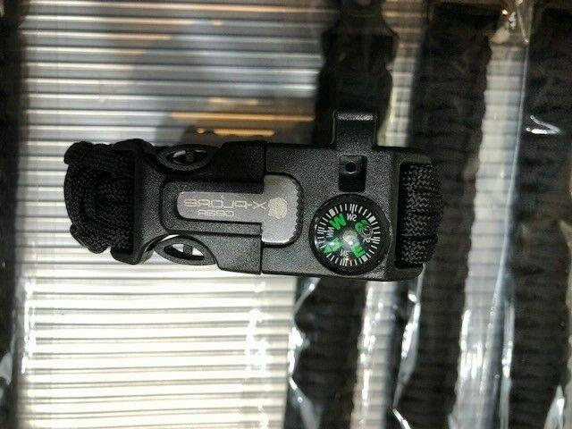 10 units X-Plore Gear Emergency Wrist Survival Camping