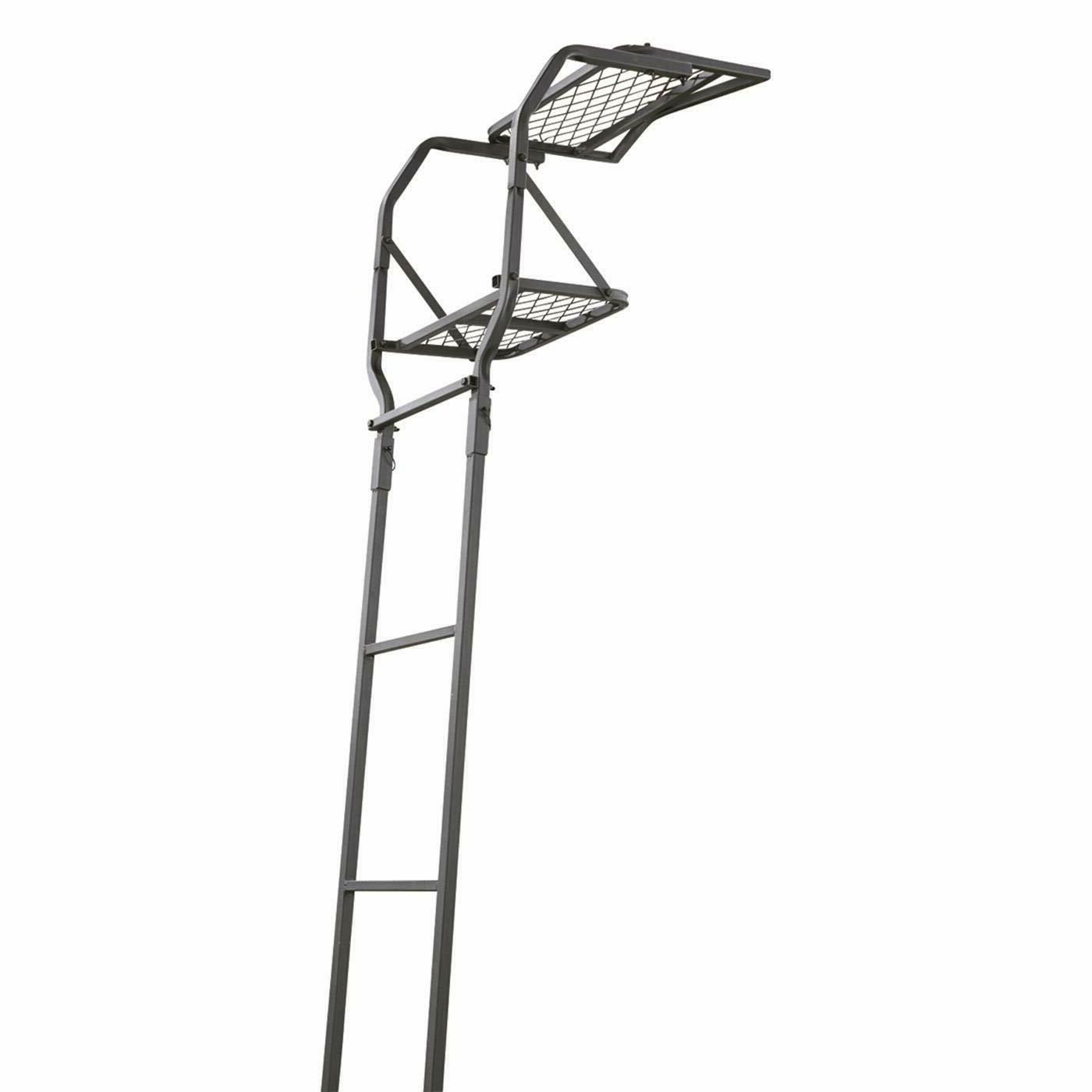 Guide Gear 15' Ladder Tree Stand Platform Hunting Seat Man P