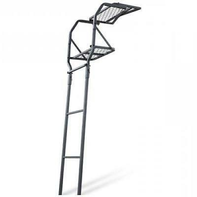 Guide Gear 15' Ladder Tree Stand Platform Hunting Seat Man P
