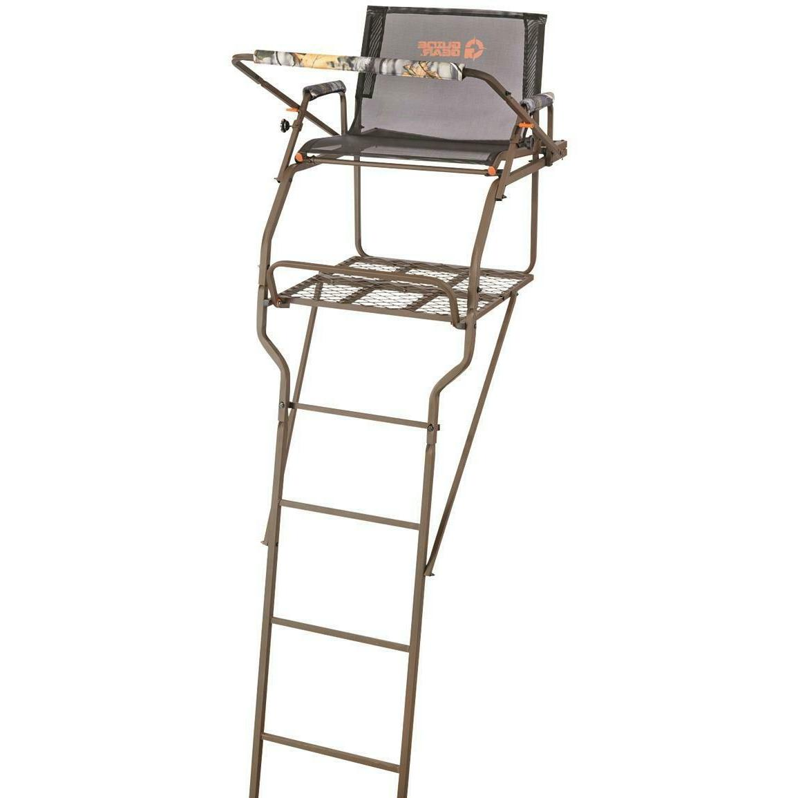 NEW! Guide Gear 18' Ultra Comfort Ladder Tree Stand