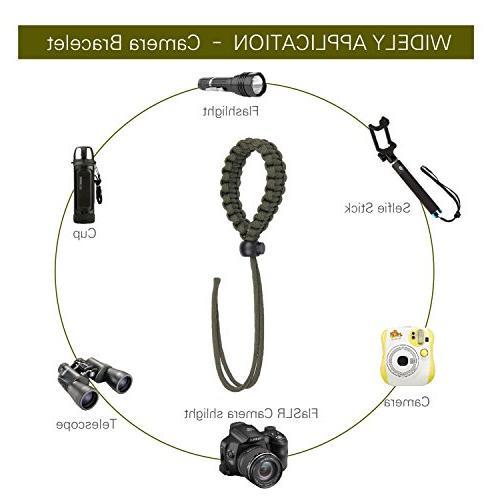 AC Parts -1Survival Bracelet Gear Bracelet Fire Starter,Compass & for