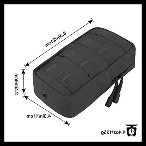 G4free 2 Tactical Molle Pouches EDC Bag Gear