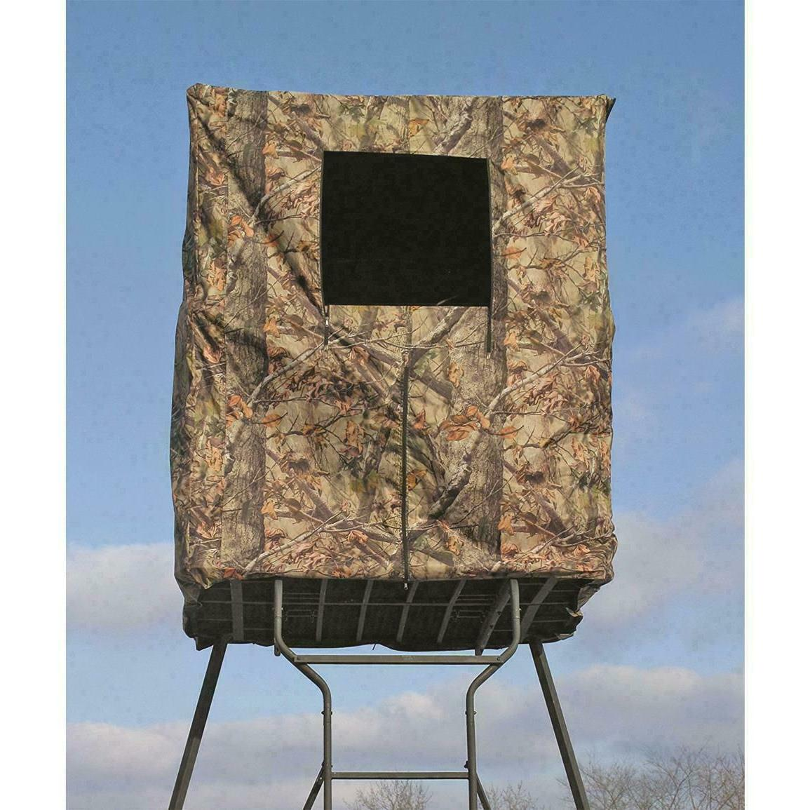 2 tower hunting blind