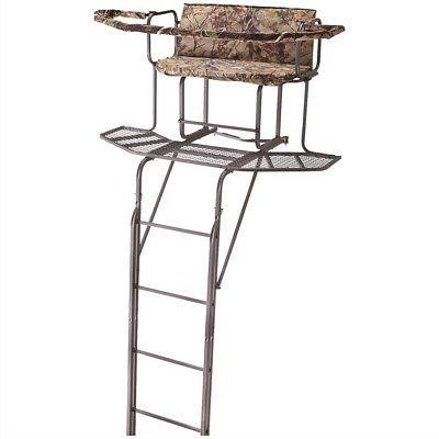 20 2 man double rail ladder tree