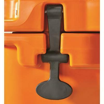 Guide Cooler Blaze Orange Ice Food Storage Outdoor