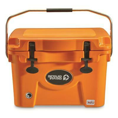 20 quart cooler blaze orange ice food