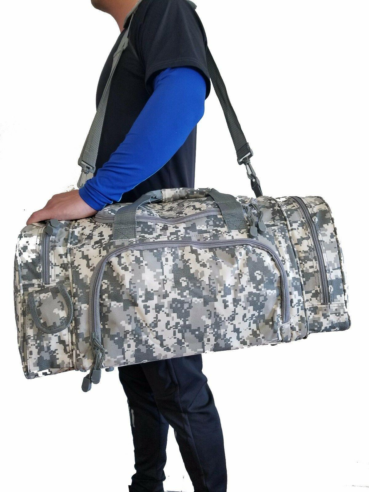 "21"" Military Camo Gun Ammo Range Gear Bag"
