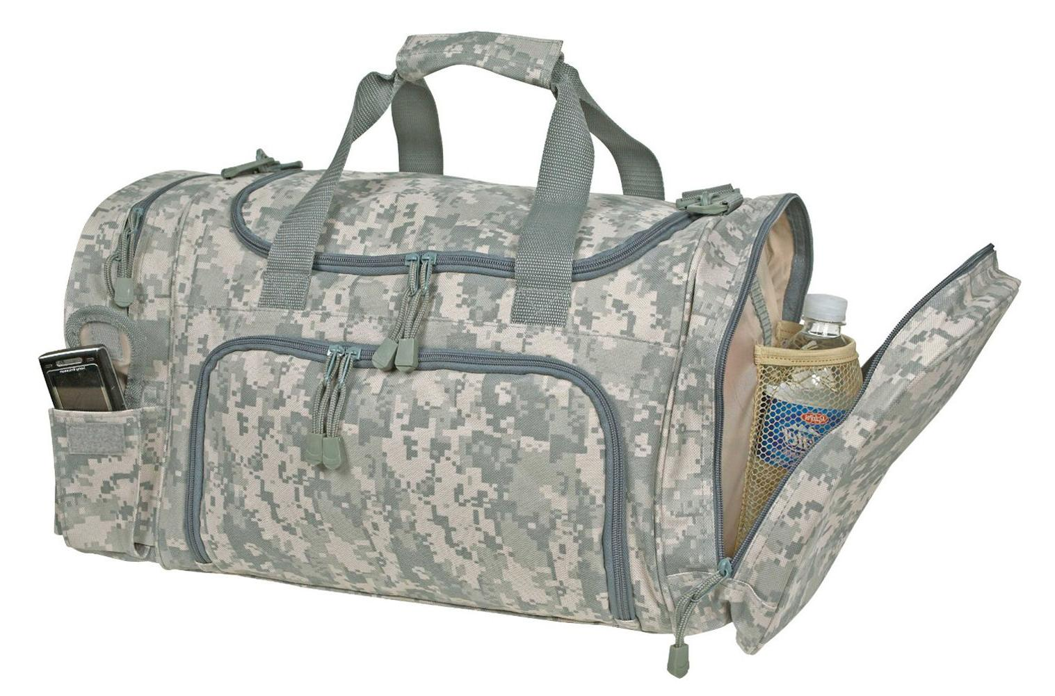 Camo Gear Duffel Bag