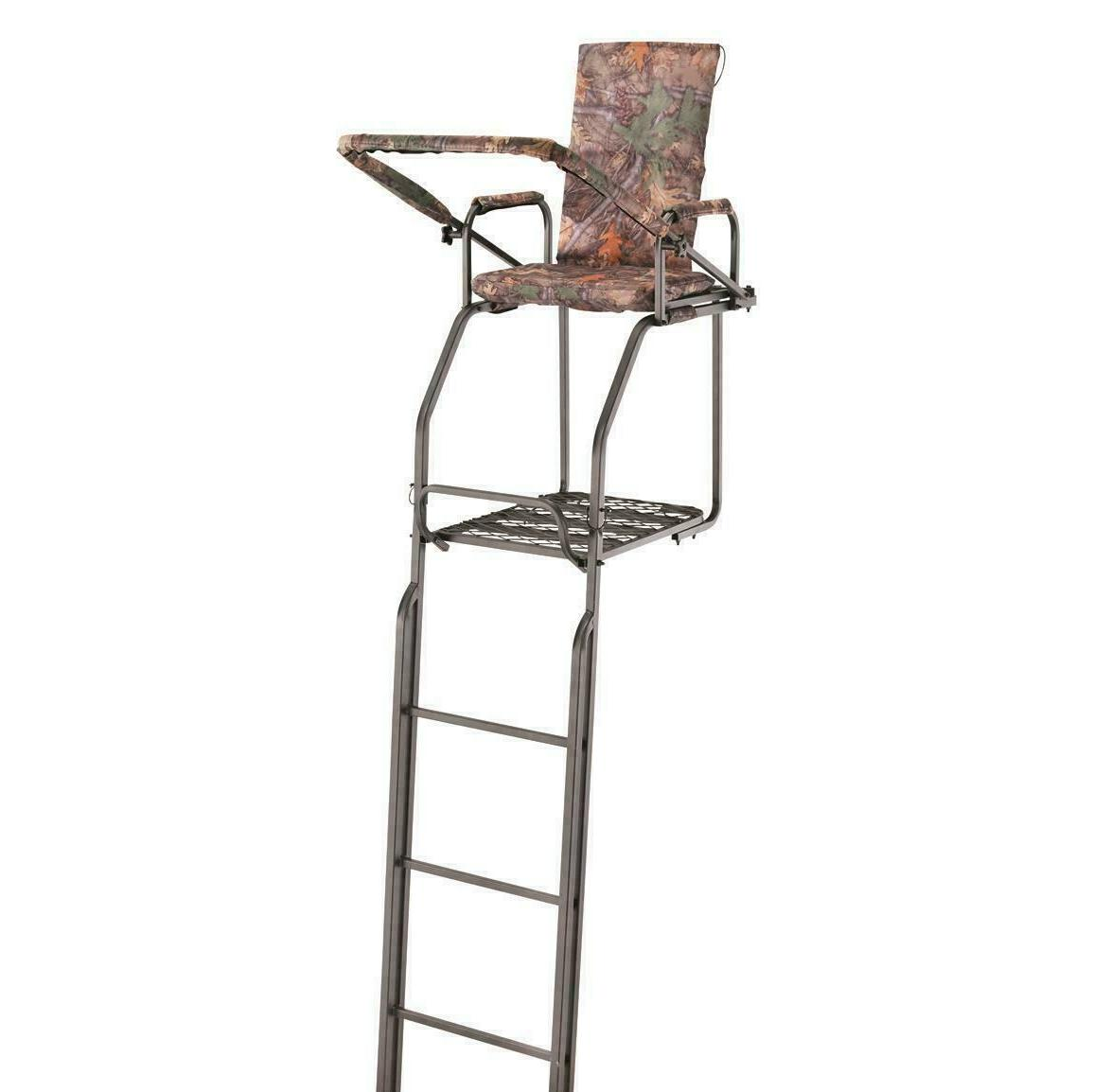 Guide ft Double Rail Tree Stand Deer Solid