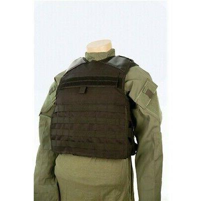 2803002 tactical vest molle webbing black xl