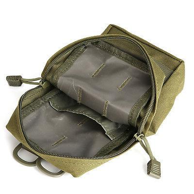 2x Compact Waterproof Utility Pouch Bag for