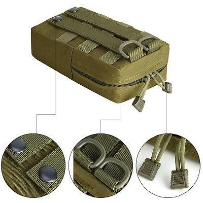 2x Tactical Compact Waterproof Pouch Bag for Magazine