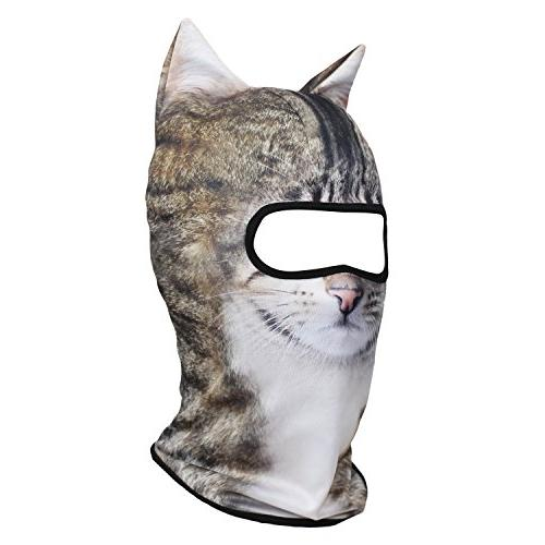JIUSY Animal Balaclava Face Protection for Riding Hunting Halloween Activities LiHua