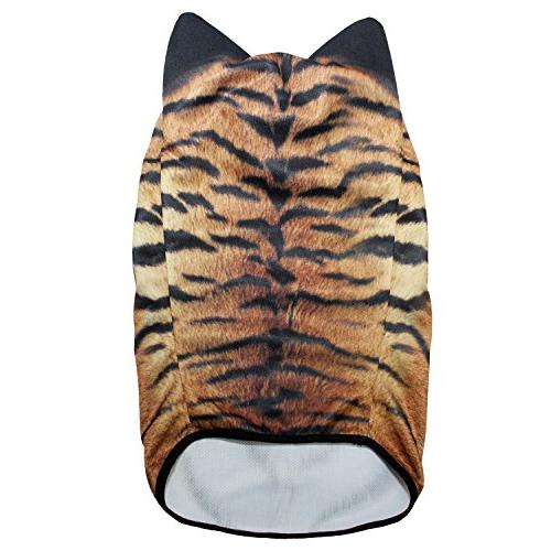 JIUSY 3D Animal Balaclava Breathable Hood Face Mask Sun for Riding Hunting Music Raves Halloween MEB-14