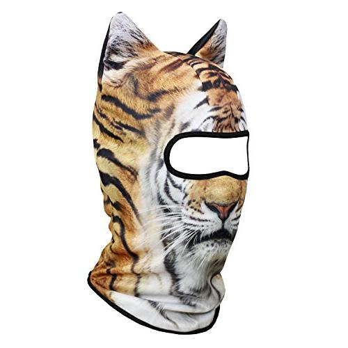 JIUSY Balaclava Breathable Hood Face for Skiing Snowmobile Hunting Music Festivals Halloween Activities MEB-14