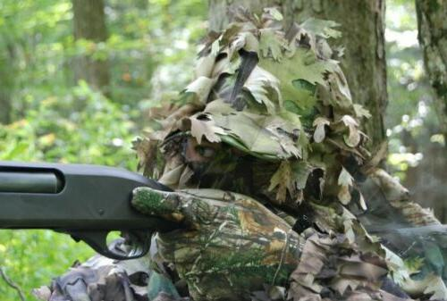 NORTH GEAR 3D Camouflage Hat Green!