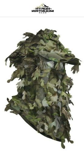 3d camouflage full cover leafy hat green