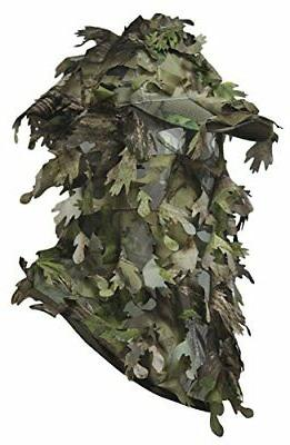 North 3D Ghillie Camouflage Hunting Large Camo Face Great for Paintball Airsoft Stalking