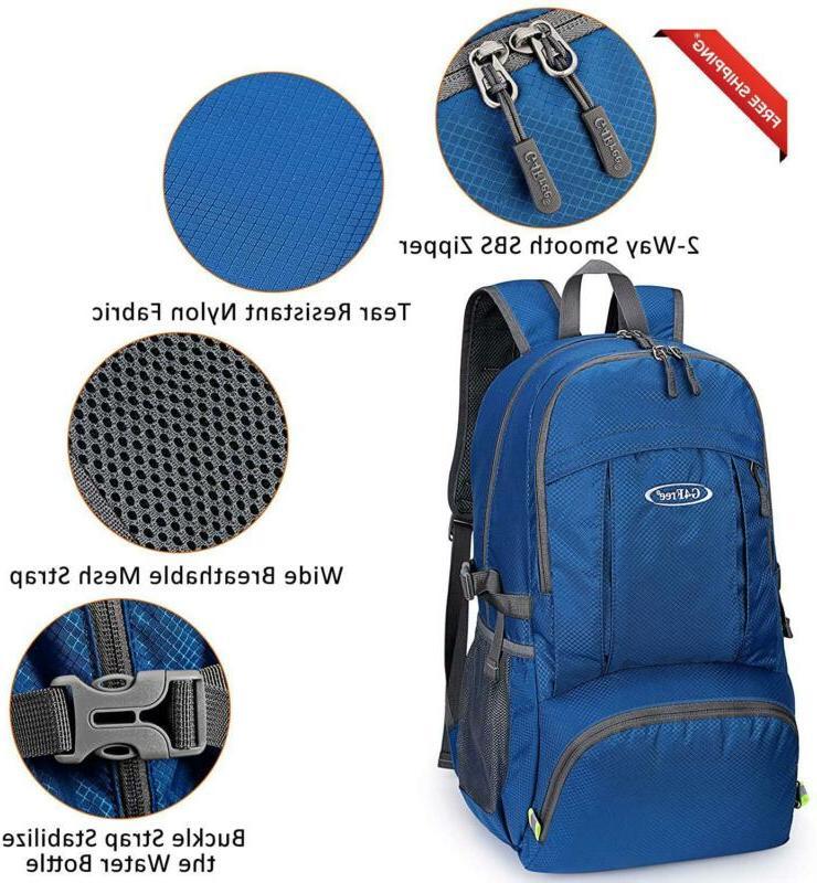 G4Free Lightweight Waterproof Hiking Backpack Wet Hand