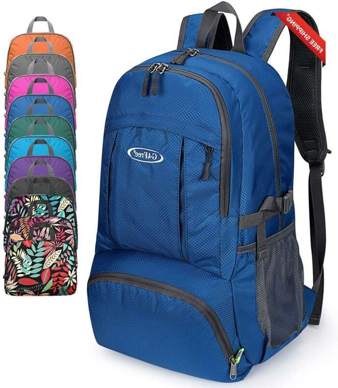 40l lightweight packable waterproof hiking backpack