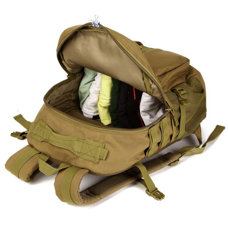 40L Tactical Daypack Assault <font><b>Gear</b></font> Rucksack Bag Sport <font><b>Hunting</b></font> Camping