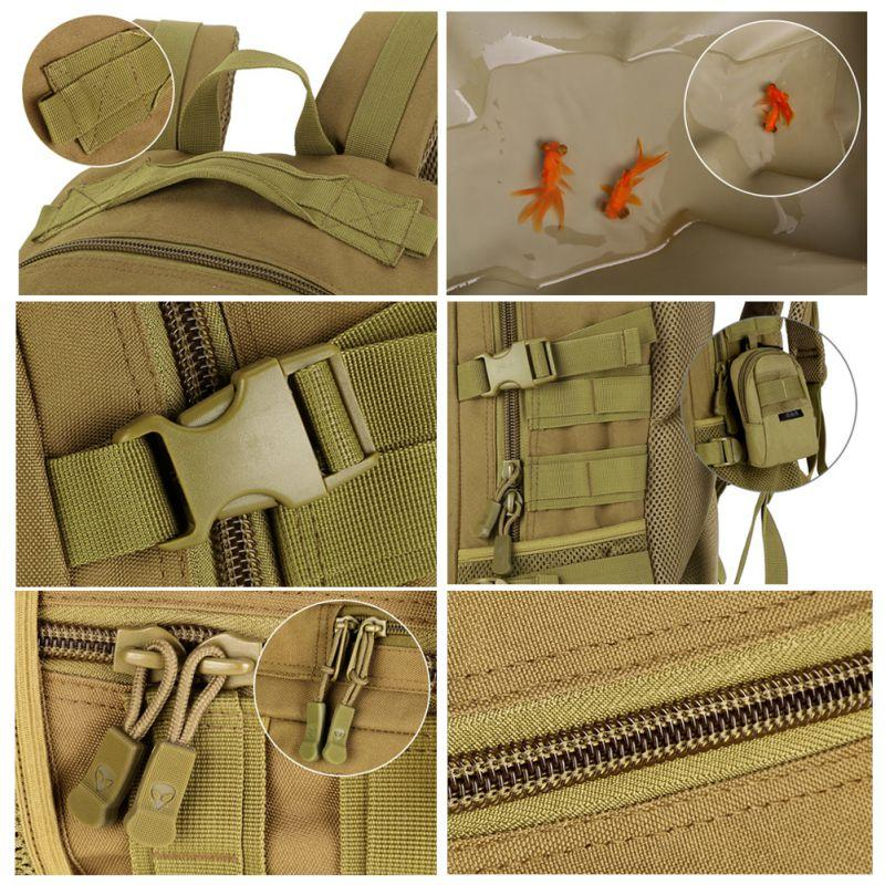 40L Tactical Daypack Assault <font><b>Gear</b></font> Rucksack Large <font><b>Waterproof</b></font> Bag Sport Outdoor <font><b>Hunting</b></font> Camping