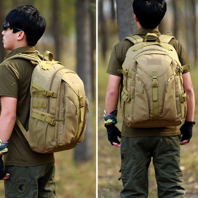 40L Tactical Daypack Assault Backpack Military <font><b>Gear</b></font> Rucksack Bag Outdoor <font><b>Hunting</b></font> Camping