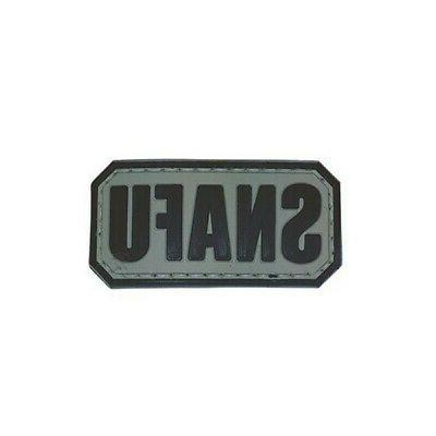 6719000 morale patch black gray
