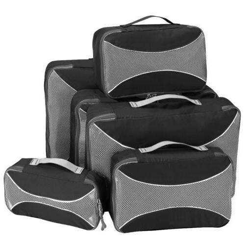 6Pcs Bags Luggage Organizer