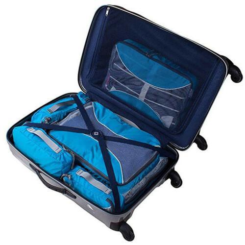 6Pcs Waterproof Storage Bags Clothes Luggage Organizer